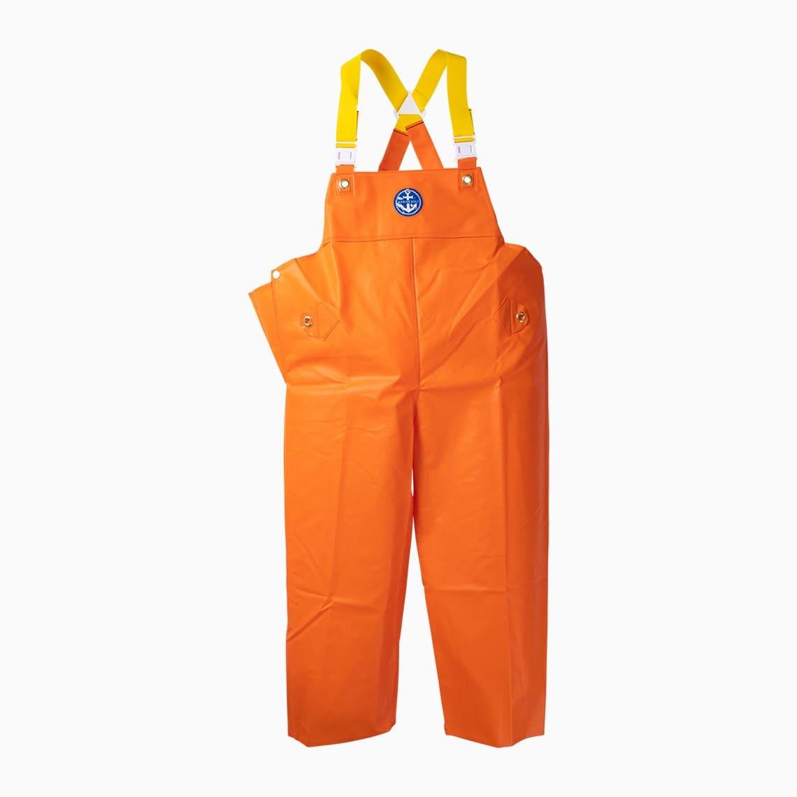 マリンレリー胸付ズボンレスキューオレンジ