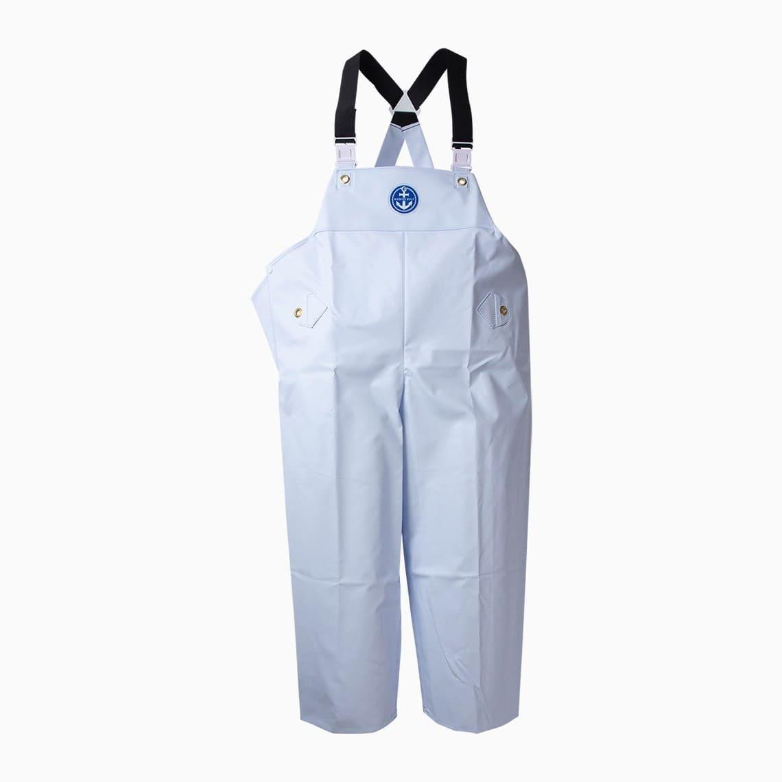 マリンレリー胸付ズボンホワイト
