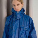 Ozaki Sangyo x EFILEVOL City Rain Coat blue photo