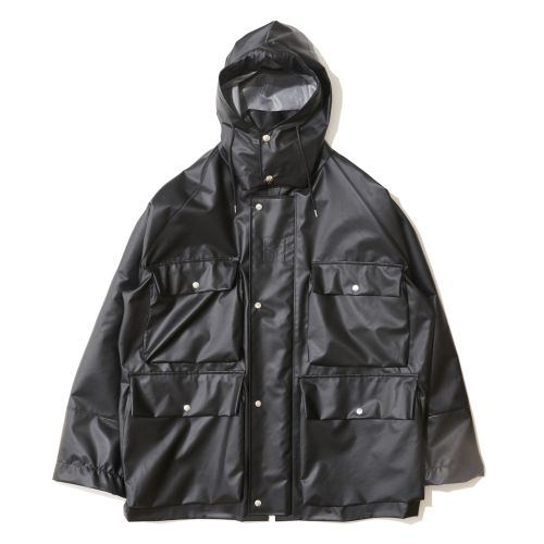 Ozaki Sangyo x EFILEVOL City Rain Coat black photo