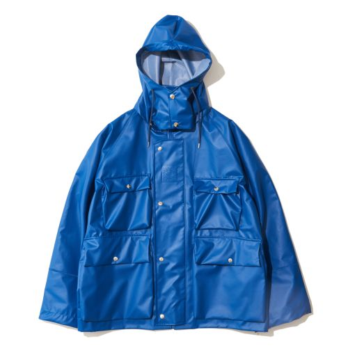 Ozaki Sangyo x EFILEVOL City Rain Coat blue photo_s